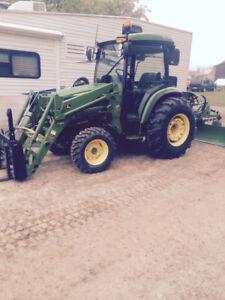 John deer 4066 tractor,loader for sale