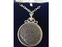 Sterling Silver Shipwreck Coin From Hollandia 1743