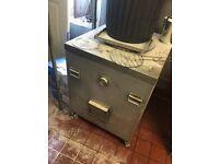 Tandoori charcoal oven
