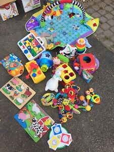 Assortment baby toys