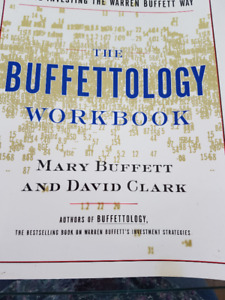 """The Buffettology Workbook"" Asking $20.00 NOW $15.00"