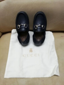 Gucci baby boy leather shoe size 24 (length) 16cm