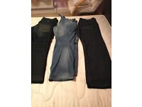 G-Star and River Island Men's jeans
