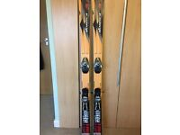 Nordica mens skis all mountain good condition salomon bindings