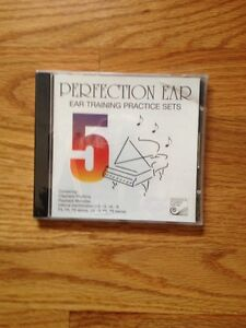 Piano CD, Perfection Ear training practice sets, new in package