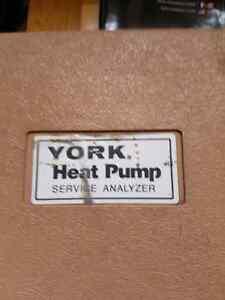 York heat pump service analyzer