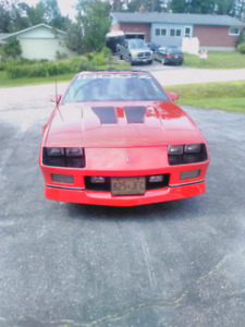 1987 IROCZ 28 CAMARO RED MINT CONDITION