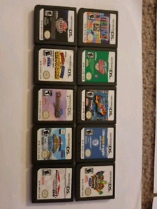 Selling many ds and 3ds games