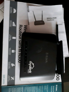 Thomson modem and Wireless D-Link Router