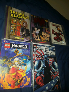 Comic books and graphic novel