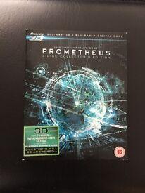 Prometheus blue ray 3 disc collectors edition