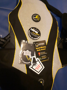 Forcefield Pro Sub 4 back protector and Forcefield elite chest p