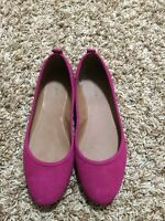 Le Chateau Pink Suede Shoes