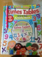 Times table Activity Book with audio CD