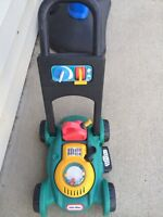 Little tikes kids lawn mower