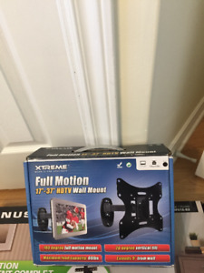 """Xtreme full motion TV wall mount 17""""-37"""""""