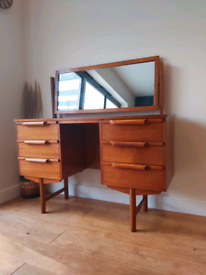 Mid century vintage 60's dressing table