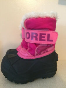 Sorel Girls winter boots size USA 5 - excellent condition