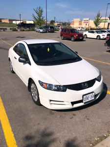 2010 HONDA CIVIC COUPE DX!!! 130,000kms only!!!