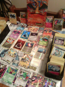 lot de carte de pokémon