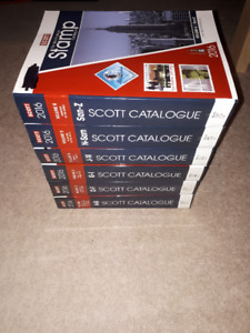 2016 Scott stamp Catalogues  All 6 Volumes
