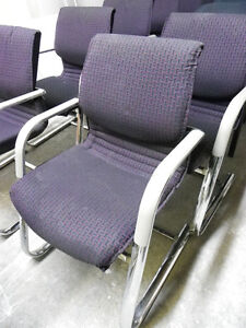 Chairs - Purple/Chrome