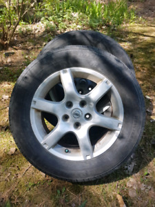 Nissan mags and tires
