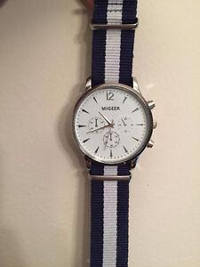 Navy Casual Daniel Wellington Style Men's Watch