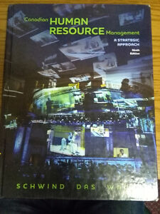 Canadian Human Resource Management (9th edit) by Schwind