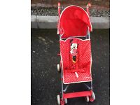 New minni mouse stroller