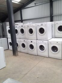 Washing machines on sale today-special offers on **starting price from £80** Warranty Included