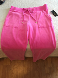 Juicy Couture Pink Velour Pant