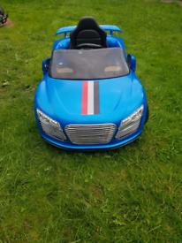 Kids Children Audi Ride On Electric Car 12V Battery Parental Remote