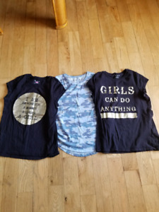Lot of 3- Girl's Shirts Size 14 in Excellent Condition