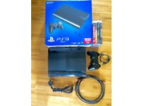 BOXED 500 GB PLAYSTATION 3 SUPERSLIM + GAMES CAN DELIVER