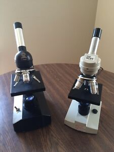 Microscopes   Cleaned & Serviced W/ Accessories