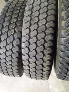 235 85 R 16 tires 3 Hankook and 1 General 200.00 for all
