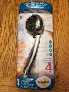 BrassCraft Massage Spray Shower Head