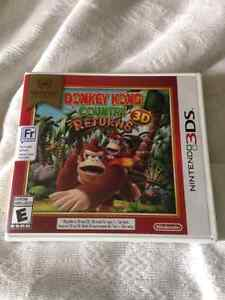 Donky Kong County for 3DS