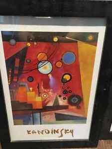 3 framed Kandinsky prints Regina Regina Area image 3