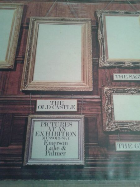 EMERSON, LAKE & PALMER - Pictures At An Exhibition ,71 lp ,UK
