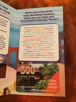 Cash or item offers for this 500$ gift card