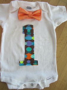1st Birthday Onesies @Blue Monkey Designs (p/u Saskatoon)
