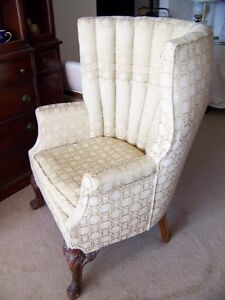Antique High Back Chair 1800