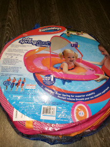 Baby float canopy (brand new)