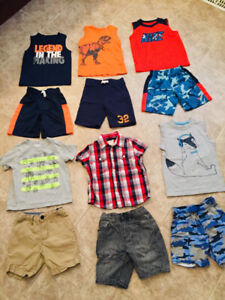 Boys summer outfits sz 4t
