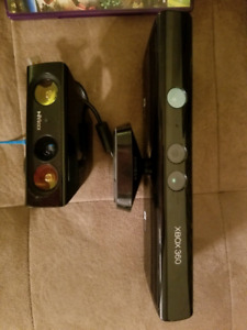 Kinect and kinect adventures game for Xbox 360