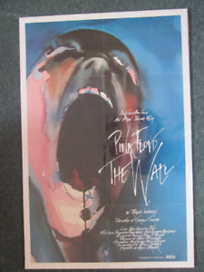 1982 PINK FLOYD THE WALL MOVIE POSTER