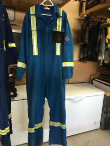 Coverall, Nomex Flame Resistant, Size 48T