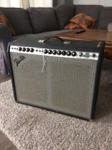 Fender Twin Reverb vintage silverface 70s